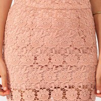 Short Crochet Skirt