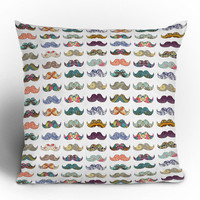 Bianca Green &quot;Mustache Mania&quot; Throw Pillow | DENY Designs