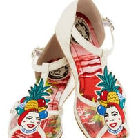 Totally Tutti-Fruity Sandal