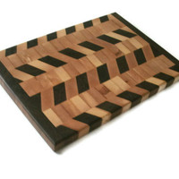 End Grain Cutting Board Hardwood Maple by BillsWoodenPleasures