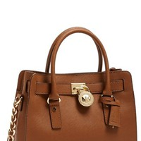 MICHAEL Michael Kors 'Hamilton' Saffiano Leather Satchel, Medium | Nordstrom