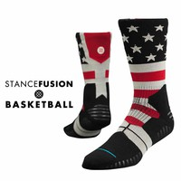 Stance | Union White, Black, Red socks | Buy at the Official website Main Website.