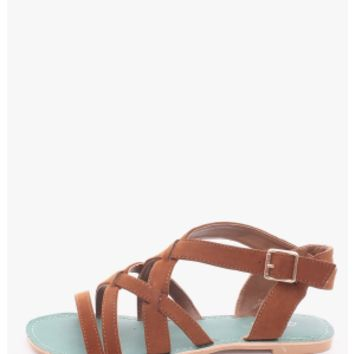 RUST Road Trip Gladiator Sandals | $10.00 | Cheap Trendy Sandals Chic Discount Fashion for Women | M