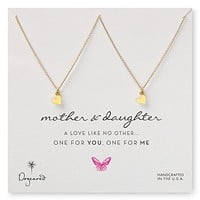 Dogeared One for You, One for Me Mother Daughter Set of 2 Necklaces, 18""