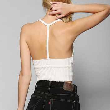 Ecote T-Back Sweater Bralette - Urban Outfitters