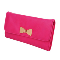 Polished Bow Wallet | FOREVER21 - 1000041278