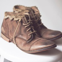 Free People Womens Vaughan Crochet Boot - B