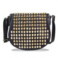 The Black Studs Handbag - 29 N Under
