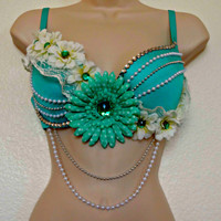 Tiffany Co. Inspired Rave Bra