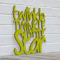 Twinkle twinkle little star baby nursery by spunkyfluff on Etsy