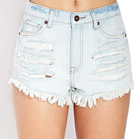 Denim Days Ripped Shorts