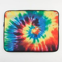 "Tie Dye Neoprene 15"" Laptop Sleeve Multi One Size For Men 23194095701"