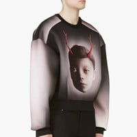 BLACK & ROSE OLEG DOU NEOPRENE SWEATSHIRT