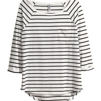 H&M - Jersey Top -