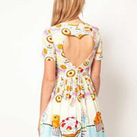 Dress in Tea Party Print at ASOS