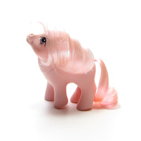 Baby Cotton Candy My Little Pony Vintage G1 Year 3 1984 Pink MLP