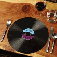 Record Placemats by GAMA GO