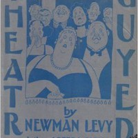 Theatre Guyed Hardcoverby Newman Levy (Author) , Rea Irvin (Illustrator)