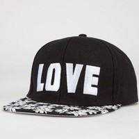 Daisy Love/Hate Womens Snapback Hat