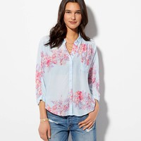 AE TROPICAL PRINTED GIRLFRIEND SHIRT