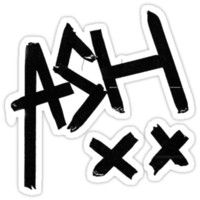 ASH XX T-Shirt/Sticker