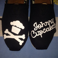 Johnny Cupcake Inspired Custom TOMS Shoes