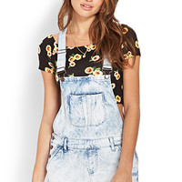 Denim Days Overall Shorts