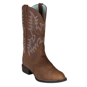 Ariat® Ladies' Heritage Stockman Boot, Driftwood Brown - Tractor Supply Co.
