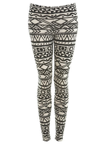 Aztec Print Legging - Miss Selfridge US