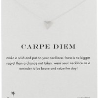 "Dogeared ""Reminders"" Carpe Diem Pyramid Pendant Necklace, 18"""