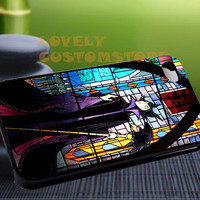 Maleficent Pattern Sleeping beauty Glass - iPhone 4 / iPhone 4S / iPhone 5 / Samsung S2 / Samsung S3 / Samsung S4 Case Cover