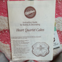 Vintage Wilton Cake Pan/Heart Quartet/ Luck O'The Irish/Black Forest Cake/St. Patricks Day