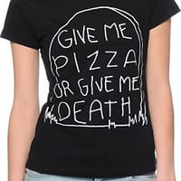 Jac Vanek Give Me Black Tee Shirt