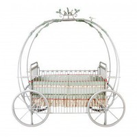 Corsican Kids Pumpkin Crib - 43006 - Furniture