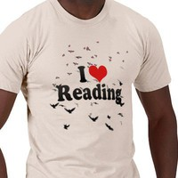I Love Reading Tshirt from Zazzle.com