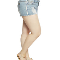 Hot Kiss Daisy Trim Short | Wet Seal