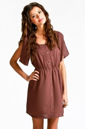gentle fawn - scarlet dress (blackberry) - Gentle Fawn | 80&#x27;s Purple