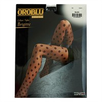 Oroblu Brigitte Polka Dot Tights at Von Maur