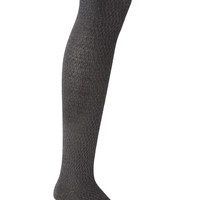 Cozy Textured Over-The-Knee Socks
