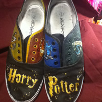 Harry Potter Shoes by abebendorf on Etsy
