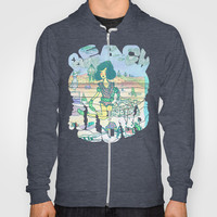 Beach Party Hoody by Ben Geiger
