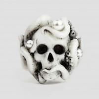 Octopus Ring - White | NOT JUST A LABEL
