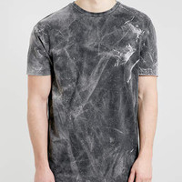 BLACK BLEACH SKATER T-SHIRT - New This Week - New In