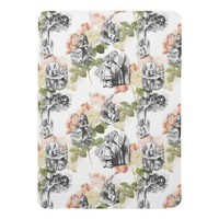 Alice in Wonderland Vintage Roses Baby Blanket