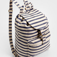 Baggu Sailor Striped Backpack | Shop All Baggu Now | fredflare.com