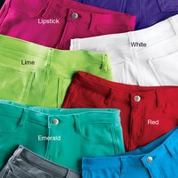 Bold Color Jeggings - Urban Groove