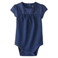 Cherokee® Newborn Infant Girls' Cap Sleeve Bodysuit