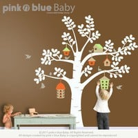NEW DESIGN The Bird Houses and Tree Nursery by pinknbluebaby