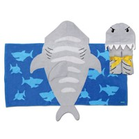 Stephen Joseph Boy's Hooded Towel