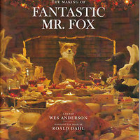 The Making of Fantastic Mr. Fox  -- Used Promotional Book 40 pages  Wes Anderson
